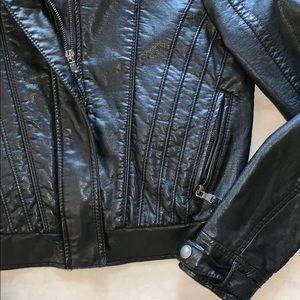Zara Jackets & Coats - *Zara* Leather Jacket